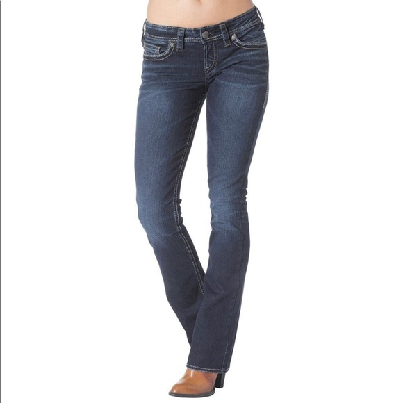 Silver Jeans / Aiko Low Rise Bootcut Jeans 30x33